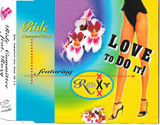 RIDE COMMITTEE ft ROXY - Love to do it! CDM 8TR House 1994 Holland RARE!!
