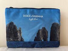 Dolce & Gabbana Light Blue Make Up Bag