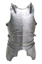 X-Mas Larp Fantasy Medieval Costume Steel Armor Armour Cuirass (Front And Ba