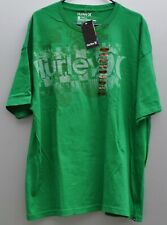 Hurley Graphic Shirt XXL Mens Green Cotton Athletic T-shirt New