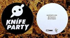 KNIFE PARTY Abandon Ship Ltd Ed RARE Sticker +FREE Dance/Rock Stickers! PENDULUM