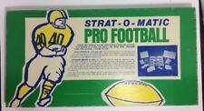 VINTAGE 1968 STRAT-O-MATIC PRO FOOTBALL GAME 1978 STAT CARDS, APPEARS COMPLETE!