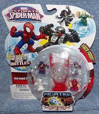 MARVEL ULTIMATE SPIDER-MAN SERIES 1 FIGHTER PODS 4 PACK SET #9