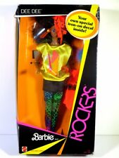 NIB BARBIE DOLL 1985 AND THE ROCKERS REAL DANCING ACTION DEE DEE BOX 1
