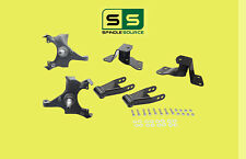 """1988 - 1998 Chevrolet GMC C1500 2"""" / 4"""" Drop Kit 2/4 Spindles Hanger Shackles"""