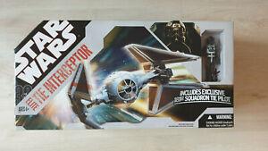 Hasbro Star Wars 30th Elite Tie Interceptor *NEU OVP*