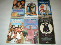 COMEDY MOVIES 6 PACK VHS MOVIE LOT RARE OOP HTF