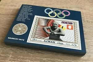 # 100X AJMAN - MNH - OLYMPICS - BOXING - SPORTS
