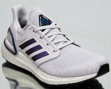 adidas Ultraboost 20 Women's Boost Grey Violet Metallic Running Shoes Sneakers