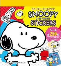 SNOOPY & HIS FRIEND STICKERS Snoopy Seal book 250