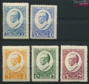 Latvia 144A-148A (complete issue) with hinge 1929 Denkmalfonds (9476269