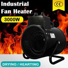 【PRE SALE】Electric Industrial Fan Heater 3000W Portable Workshop Dryer Blower AU