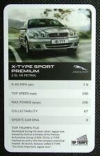 1 x card Top Trumps Jaguar car X-Type Sport Premium – 2.5L V6 Petrol J30