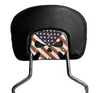 Just Married Backrest Mount Plate for Harley Davidson Touring Bikes