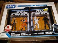 Star Wars Legacy- Commemorative Tin Luke Skywalker /Biggs Darklighter/troopers