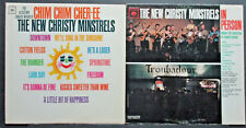 THE NEW CHRISTY MINSTRELS-CHIM CHIM CHER-EE/IN PERSON VINYL LOT 2, VG+