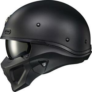 Scorpion Exo Covert X Convertible DOT Helmet Solid Matte Black Large 75-1607L