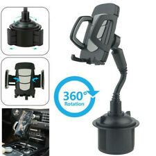 Universal Car Mount Adjustable Gooseneck Cup Holder Stand Cradle for Cell Phone