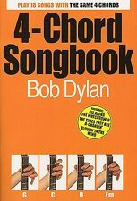 Bob Dylan 4 Chord Songbook Guitar Sheet Music Book Best Of Greatest Hits New