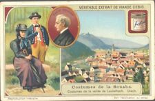 Liebig - Costumes of Swabia S1088 (French) - Lauterbach Valley