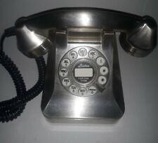 Polyconcept 1950's Style Metallic Telephone