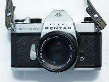 Asahi Pentax  Spotmatic F 35mm SLR Camera w/ Takumar 55mm f1.8 lens
