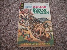 Korak Son of Tarzan # 34 ( April 1970) Gold Key Comic