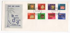 1971 TOKELAU ISLANDS First Day Cover HANDICRAFTS Issues (Definitives)