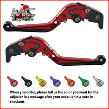 Folding Extendable Adjustable Levers BMW R1200GS ADVENTURE 2006 - 2013 Red