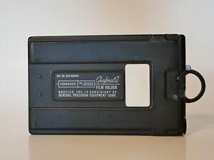 Graflex Grafmatic model 1268 film holder - excellent