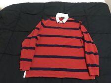 Polo Ralph Lauren, Men's XXL 2XL L/S Rugby Polo Shirt  Vented.