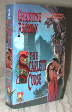 The SCARLETTI CURSE by Christine Feehan Gargoyles Dynasty Book 1 2001 PB MINTY