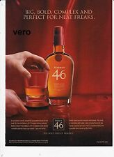 MAKER'S MARK 2015 MAKERS 46 magazine ad Whisky alcohol advert print clipping