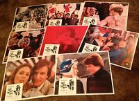 """1974 And Now My Love ORIGINAL SET OF 11"""" x 14"""" LOBBY CARDS Marthe Keller"""
