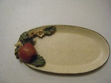 COLLECTION BY INNOVATION ORCHARD BLOSSOM SM 6 INCH OVAL PLATE APPLE/FLOWERS