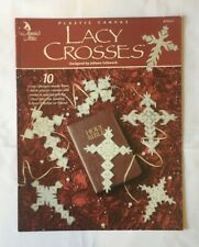 """""""Lacy Crosses"""". Religious, spiritual cross-stitch instruction and pattern book."""