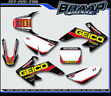 Honda CRF-50 2004-2012 Graphics Decal Kit Geico