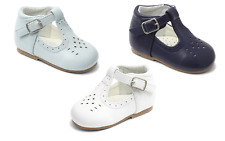 NEW Sevva Aaron Baby & Boys Spanish Style Romany Matt High Back Buckle Shoes