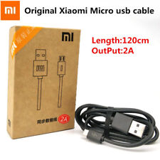 Original Xiaomi Redmi 2s 3s 4 4x Note 4 4​​x 2A USB Data Charger Cable 120cm