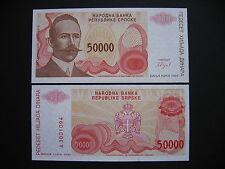 """Bosnia-Herzegovina 50000 Dinara 1993 """"Banja Luka"""" (p150a) UNC"""