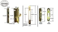 Sliding Patio Door Mortise Lock & Keeper Kit for New Installation or Replacement