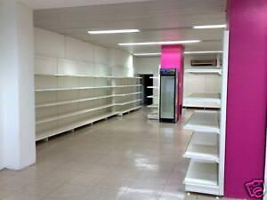 Tegometall 3m Supermarkt Ladeneinrichtung gebraucht Biomarkt Tego/Eden/Vendox