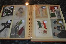 VINTAGE ITALIAN POST CARD COLLECTION IN BINDER!!! 90 TOTAL!!! MUST SEE!!!