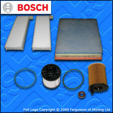 SERVICE KIT for DS DS5 1.6 BLUEHDI OIL AIR FUEL CABIN FILTERS (2015-2019)