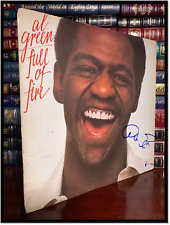 Full Of Fire ✎SIGNED♫ by AL GREEN Rare Vinyl LP Album Beckett COA Authenticity