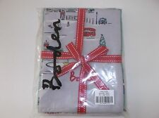Boden Tea Towel Set of 3 BNIB London Print, Robin, Red & White Spots BD029LONDON