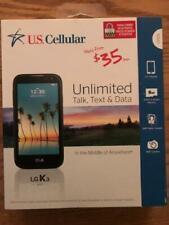 "US CELLULAR  LG K3 BRAND NEW PREPAID CELL PHONE  4.5"" VGA Display"
