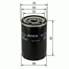 BOSCH 0 986 452 041 Ölfilter für MITSUBISHI