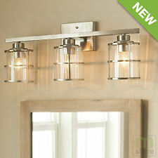 Bathroom Vanity Lights On Ebay allen + roth nickel vanity lighting wall fixtures | ebay