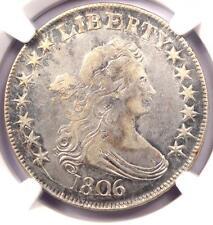 1806 Draped Bust Half Dollar 50C - NGC VF Detail - Rare Certified Coin - Near XF